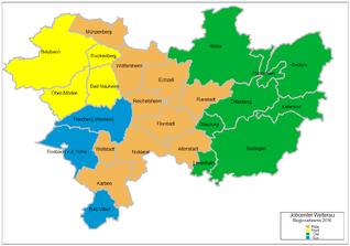 Karte Regionalteams